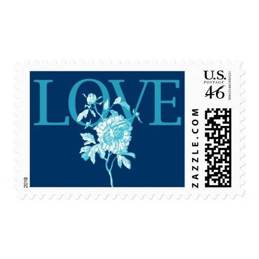 """Sello azul del """"amor"""""""