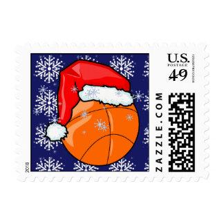 Sello - baloncesto de Santa