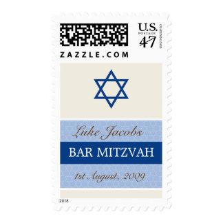 SELLO:: BARRA MITZVAH - boy1 Sello Postal