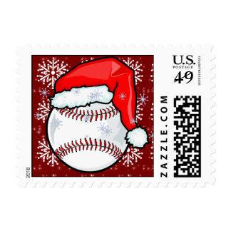Sello - béisbol de Santa