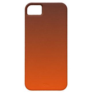 Sello Brown a la pendiente horizontal del Tangelo iPhone 5 Funda