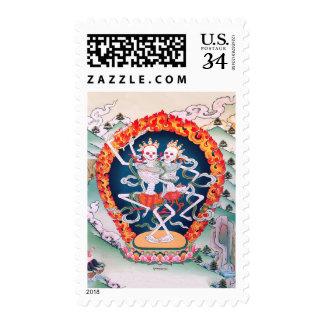 Sello budista tibetano del arte