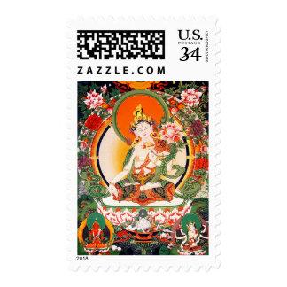 Sello budista tibetano precioso del arte