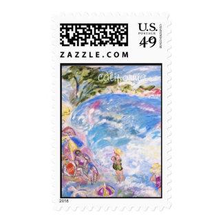sello California del poste