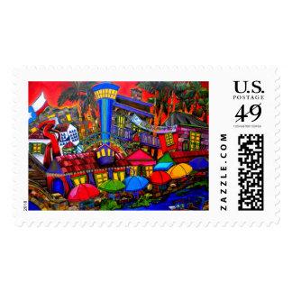 sello céntrico de San Antonio
