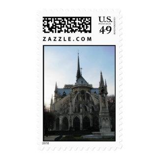 Sello con Notre Dame de Paris