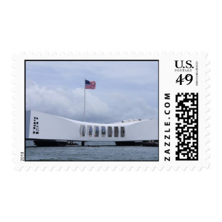 Sello conmemorativo de USS Arizona