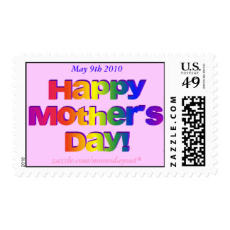 Sello conmemorativo madres día del 9 de mayo de 20