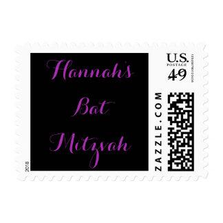Sello conocido de encargo de Mitzvah del palo