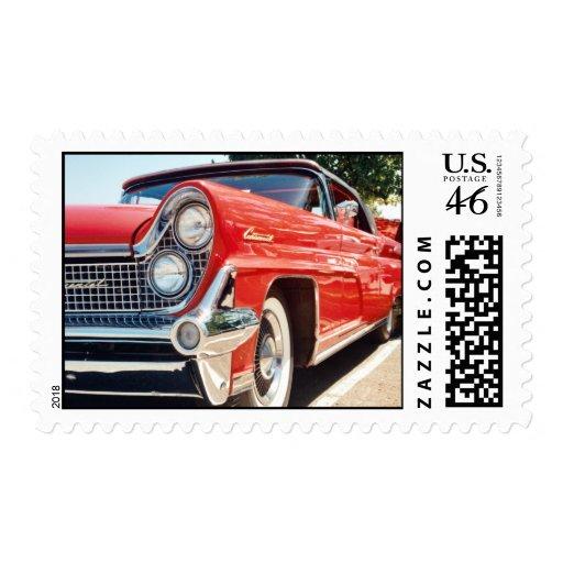 Sello convertible continental 1959 de Lincoln
