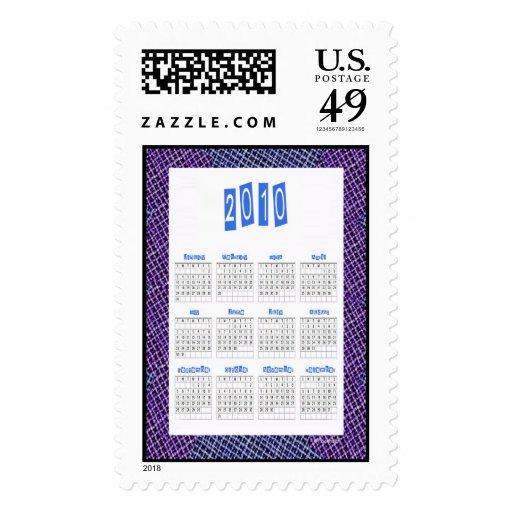 Sello de 2010 calendarios…