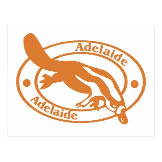Sello de Adelaide Tarjeta Postal