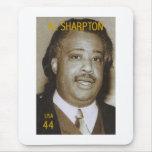Sello de Al Sharpton Alfombrillas De Ratones