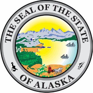 Sello de Alaska Escultura Fotografica