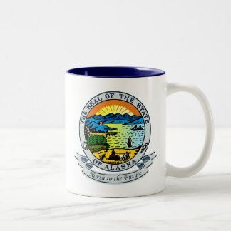 Sello de Alaska Taza De Café