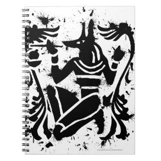 Sello de Anubis Libretas Espirales