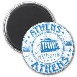 Sello de Atenas Iman De Frigorífico