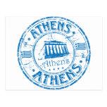 Sello de Atenas Postal