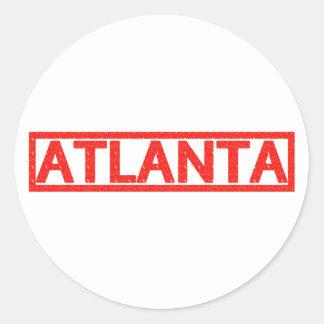 Sello de Atlanta Etiquetas Redondas
