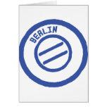 sello de Berlín Felicitacion