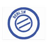 sello de Berlín Postales