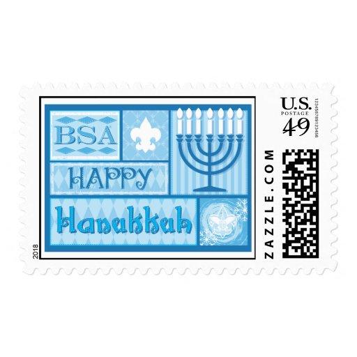 Sello de BSA/Happy Hanakkah
