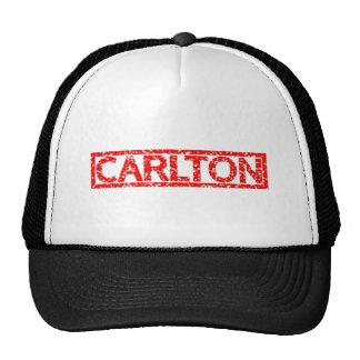 Sello de Carlton Gorras De Camionero