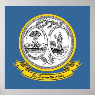 Sello de Carolina del Sur Impresiones