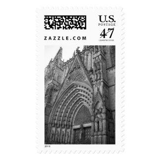 Sello de Catedral del La (Barcelona, España)