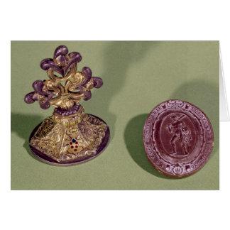 Sello de Cosimo de Medici Tarjeta De Felicitación