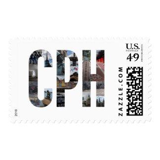 Sello de CPH Copenhague Dinamarca