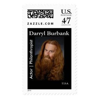 Sello de Darryl Burbank: Filántropo del actor el  