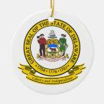 Sello de Delaware Ornamentos De Reyes