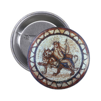 Sello de Dionysus Pin Redondo De 2 Pulgadas