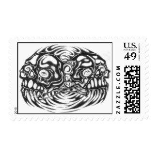 sello de dos cráneos