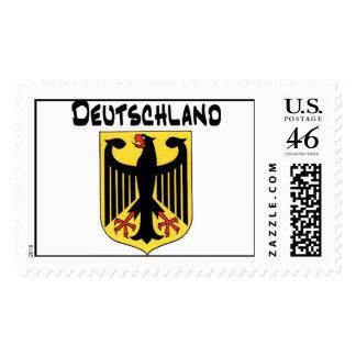 Sello de Eagle del alemán