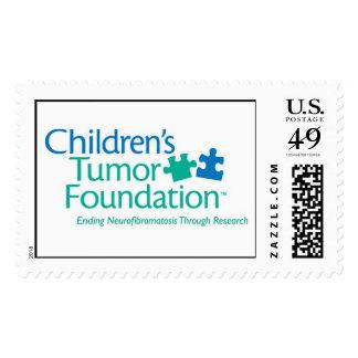 Sello de encargo de la fundación del tumor de los