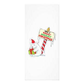 Sello de encargo de la invitación del navidad lona personalizada