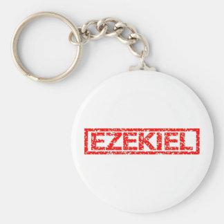 Sello de Ezekiel Llavero Redondo Tipo Pin
