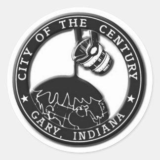 Sello de Gary Indiana Pegatinas