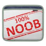 Sello de goma 100% de Noob Mangas De iPad