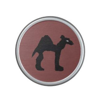 Sello de goma, camello altavoz