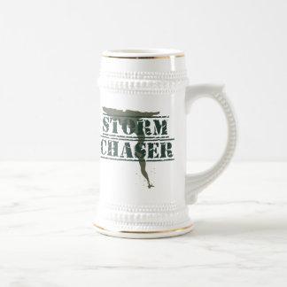 Sello de goma y embudo del cazador de la tormenta jarra de cerveza