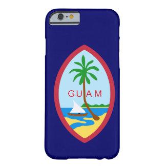 Sello de Guam Funda De iPhone 6 Barely There