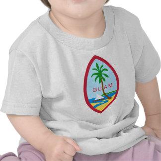 Sello de Guam Camiseta