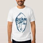 Sello de Guam por Mich Polera