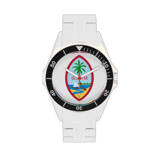 Sello de Guam Relojes De Pulsera