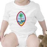 Sello de Guam Traje De Bebé
