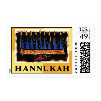 Sello de Hannukah