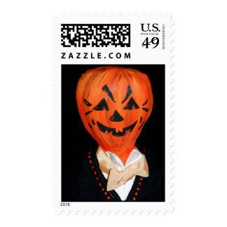 Sello de Jack O'Lantern Halloween